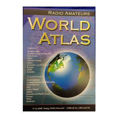 Wereld atlas in kleur