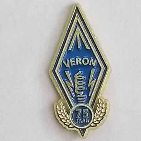 75 jaar VERON pin